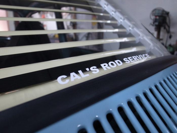 rear cal s rod service